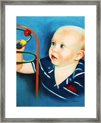Brent Framed Print by Peggy Wrobleski