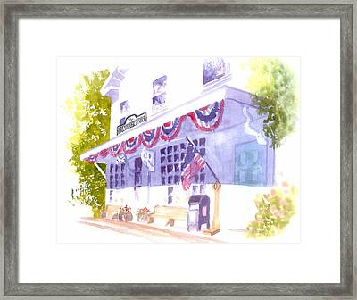 Brewster Store Framed Print by Joseph Gallant