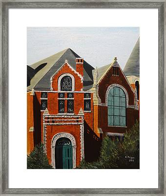 Brick Masterpiece Framed Print