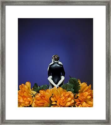 Bridal Bliss Framed Print by Dexter Fassale