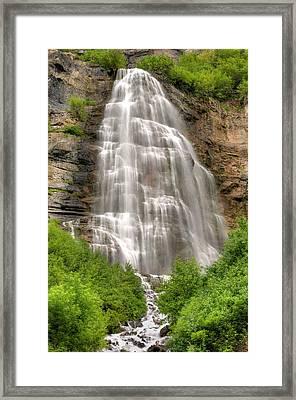Bridal Veil Falls Framed Print by Tom Kelly Photo