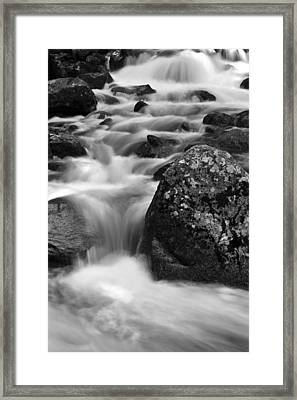 Bridalveil Creek Framed Print by Rick Berk