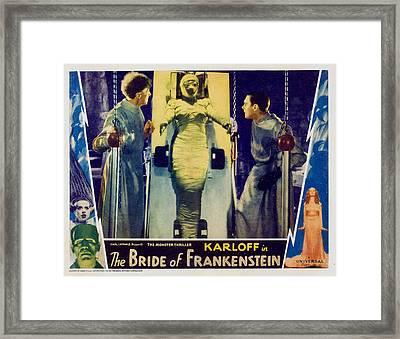 Bride Of Frankenstein, Ernest Framed Print by Everett