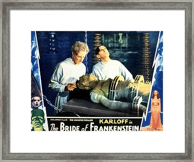 Bride Of Frankenstein, Ernest Thesiger Framed Print by Everett