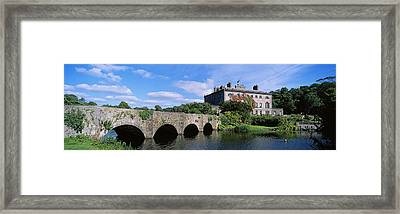 Bridge Across A Lake, Westport House Framed Print by The Irish Image Collection