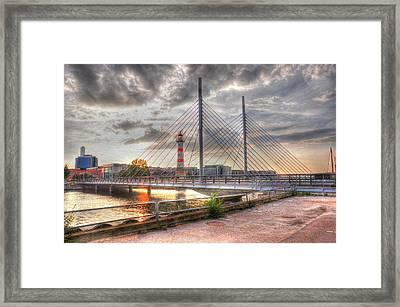 Bridge Framed Print by Barry R Jones Jr