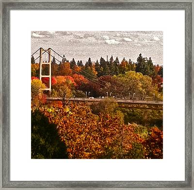 Framed Print featuring the photograph Bridge by Bill Owen