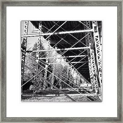 Bridge Bones  Framed Print
