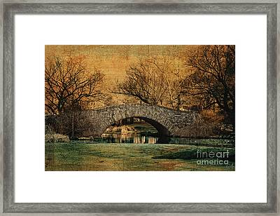 Bridge From The Past Framed Print by Nishanth Gopinathan