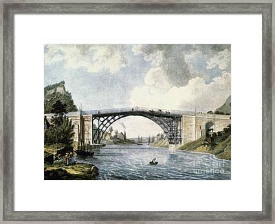 Bridge Framed Print by Granger