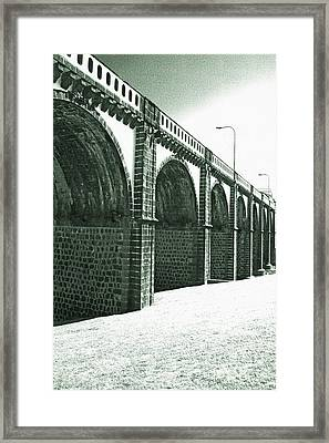 Bridge In Ribeira Grande Framed Print by Gaspar Avila