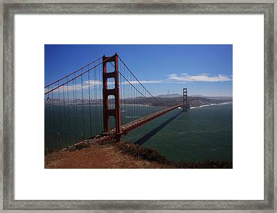 Bridge Of Dreams Framed Print by Laurie Search