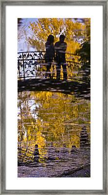Bridge Of Love Framed Print by Andrew Shlykoff