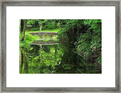 Bridge Of Tranquillity Framed Print