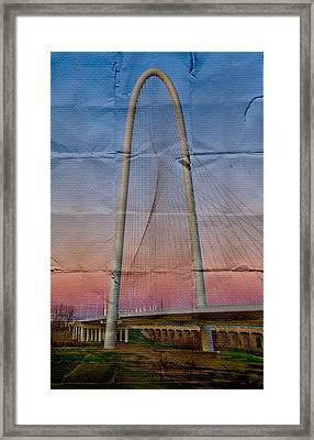 Bridge On Paper Framed Print