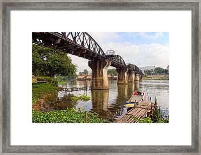 Bridge On The River Kwai Framed Print by Artur Bogacki