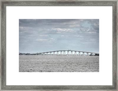 Bridge Passage Framed Print by Barry R Jones Jr