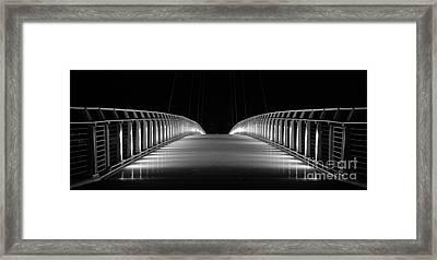Bridge Framed Print by Jenny Potter