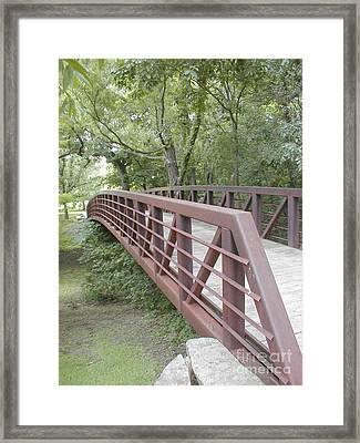 Bridge To Beyond Framed Print