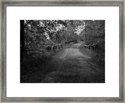 Bridge To My Youth Framed Print