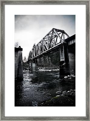 Bridge To Nowhere Framed Print by Warren Marshall