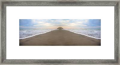 Bridge To Parallel Universes  Framed Print by Betsy Knapp