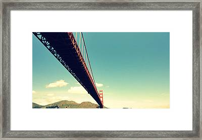Bridge To The Headlands Framed Print by Eliot Jenkins