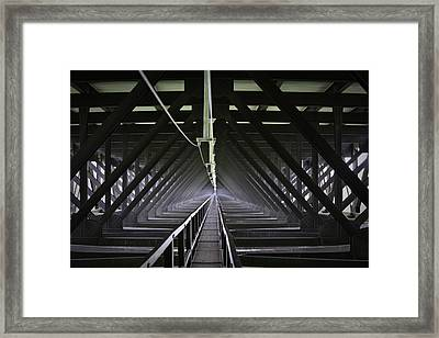 Bridge To The Other Side Framed Print by Teresa Mucha
