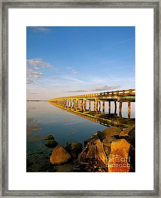 Bridge With No End Framed Print by Anthony Stephens