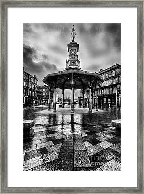 Bridgeton Cross Bandstand Glasgow Framed Print