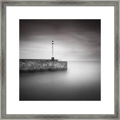 Bridlington Harbour Framed Print by Ian Barber