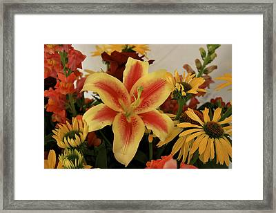 Bright And Beautiful Framed Print