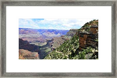 Framed Print featuring the photograph Bright Angel Trail by Paul Mashburn
