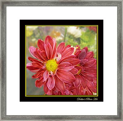 Framed Print featuring the digital art Bright Edges by Debbie Portwood