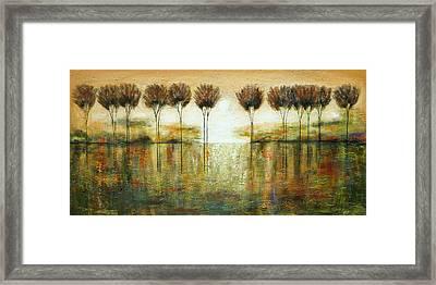 Bright Forest Framed Print