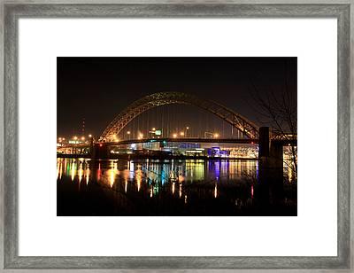 Bright Lights Big City Framed Print by Jimmy Taaffe