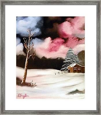 Bright Night Framed Print by Amity Traylor