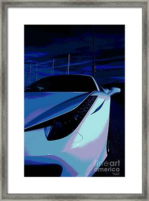 Bright Night Framed Print by Rogerio Mariani
