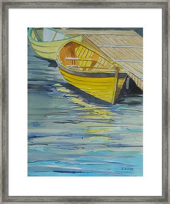 Bright Reflections Framed Print by Anthony Ross
