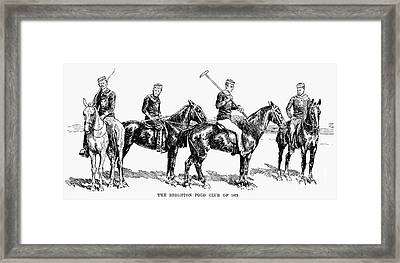 Brighton Polo Club, 1877 Framed Print by Granger