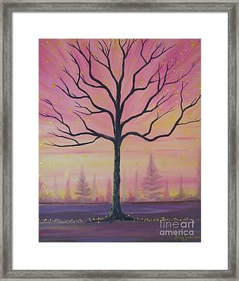 Brilliant Future Framed Print by Stacey Zimmerman