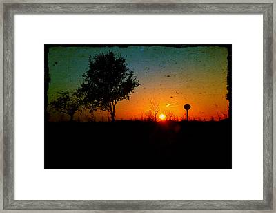 Bring On The Day Framed Print by Joel Witmeyer