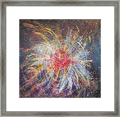 Bringing Up The Energy  Framed Print by Catherine Foster