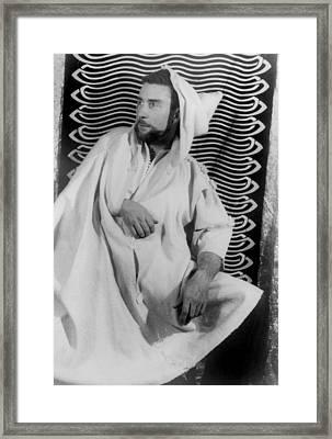 Brion Gysin 1916-1986, Painter Framed Print by Everett