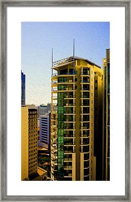 Brisbane 25th Floor 02 Framed Print by Joe Michelli