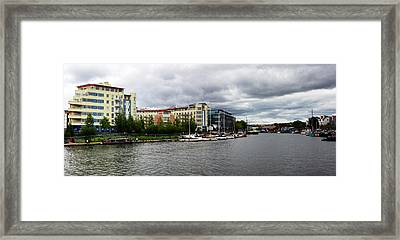Bristol Panoramic Photograph Framed Print
