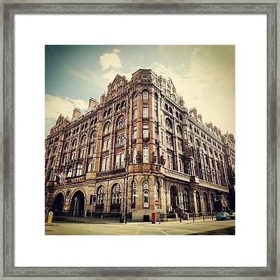 #britanniahotel  #hotel #buildings Framed Print by Abdelrahman Alawwad