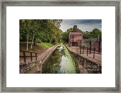 British Canal  Framed Print