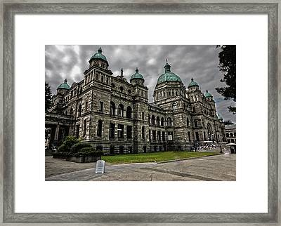 British Columbia Parliament Buildings Framed Print by Gregory Dyer