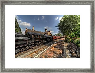 British Locomotion Framed Print by Adrian Evans